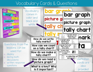 1st Grade Math Vocabulary and Definitions