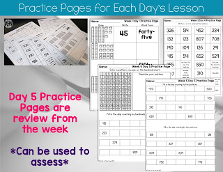 2nd Grade Math practice pages