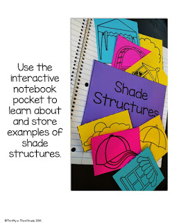 Examples of shade structures