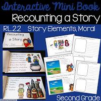 https://www.teacherspayteachers.com/Product/Recounting-a-Story-Interactive-Mini-Book-RL22-3350680