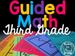https://thriftyinthirdgrade.blogspot.com/2016/07/guided-math-for-third-grade.html