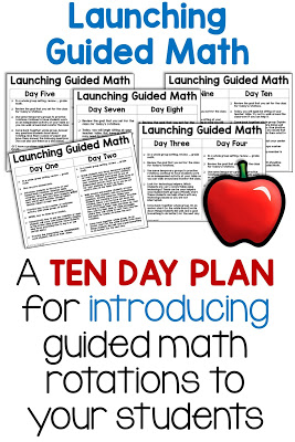 Are you wondering how to start guided math groups in your classroom? Launching guided math can be intimidating, but with the right organization, you can set up rotations that run smoothly in your classroom! Learn how I first set up Guided Math in my classroom with this free 10 day plan to launch math groups!