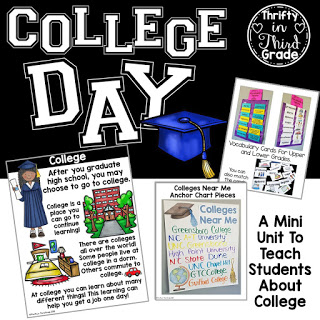 https://www.teacherspayteachers.com/Product/College-Day-A-Mini-Unit-to-Learn-About-College-3806415