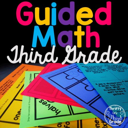 3rd Grade Guided Math Bundle