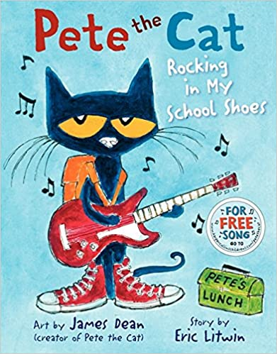 Back to School Read Alouds for Lower Elementary: Pete the Cat Rocking in My School Shoes