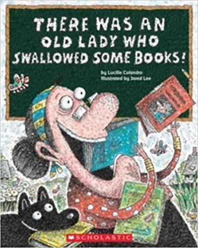 Back to School Read Alouds for Lower Elementary: There Was an Old Lady Who Swallowed Some Books!