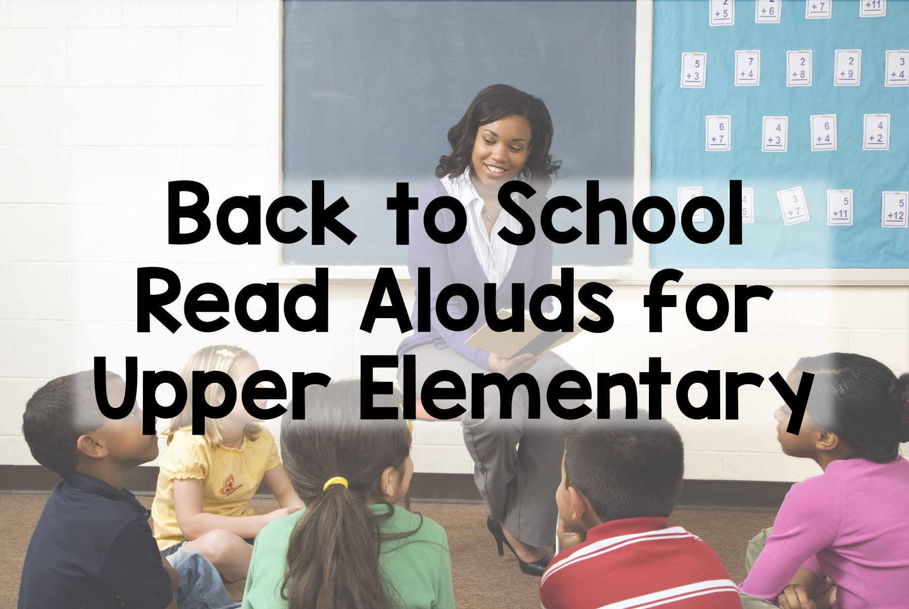 Back to School Read Alouds for Older Students