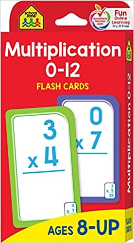 Guided Math Materials: Flash Cards