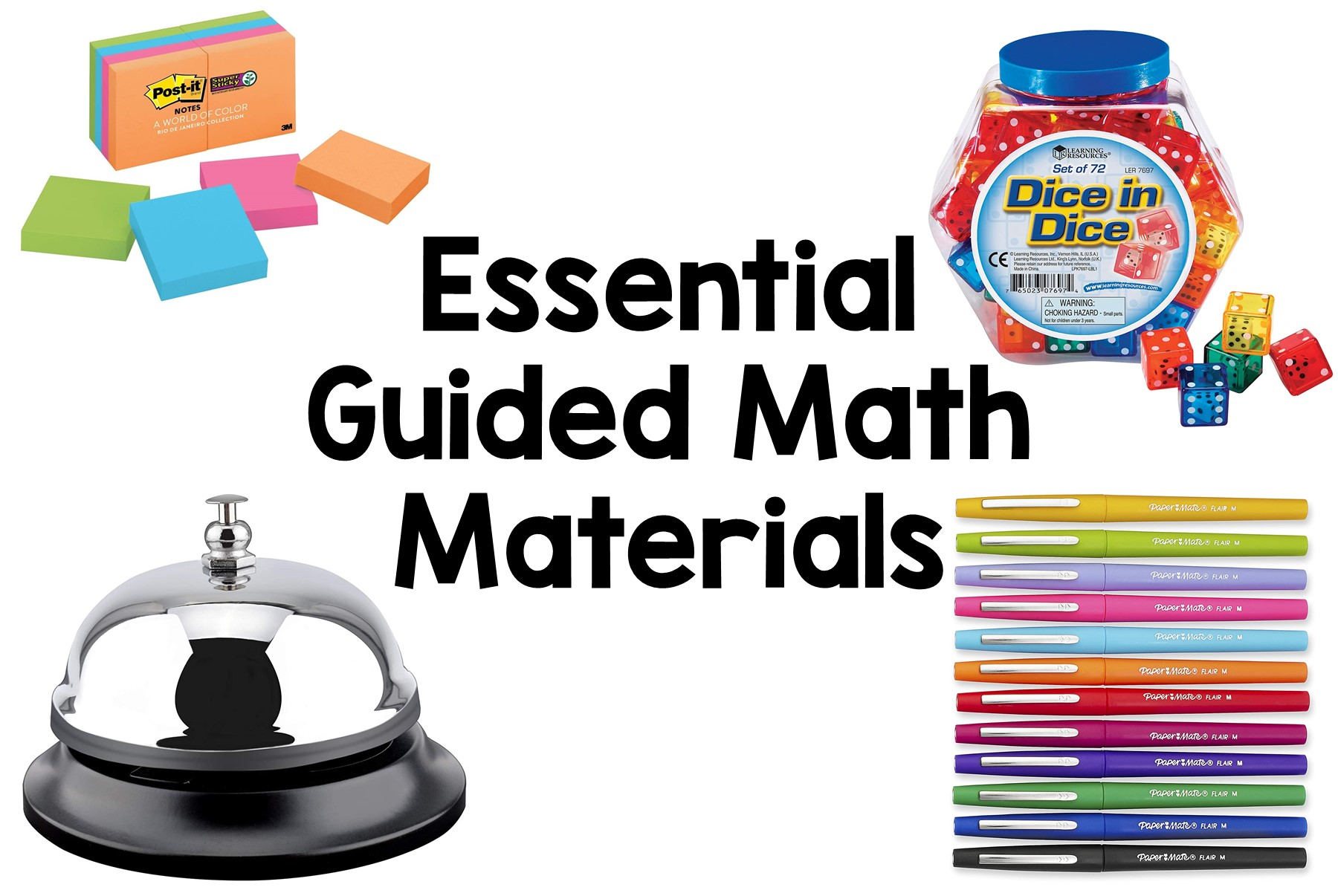 My Favorite Guided Math Materials