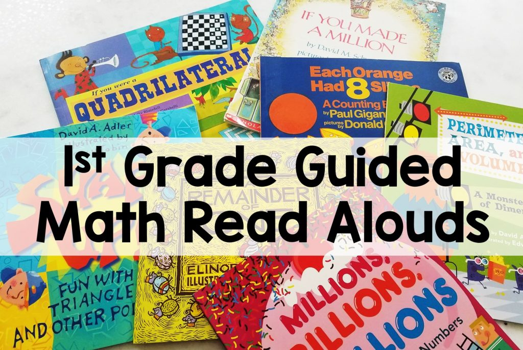 1st Grade Guided Math Read Aloud Books