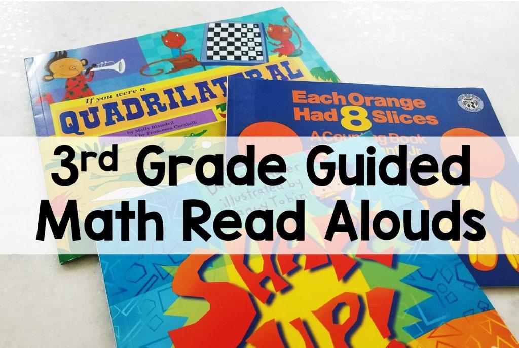 3rd Grade Guided Math Read Aloud Books
