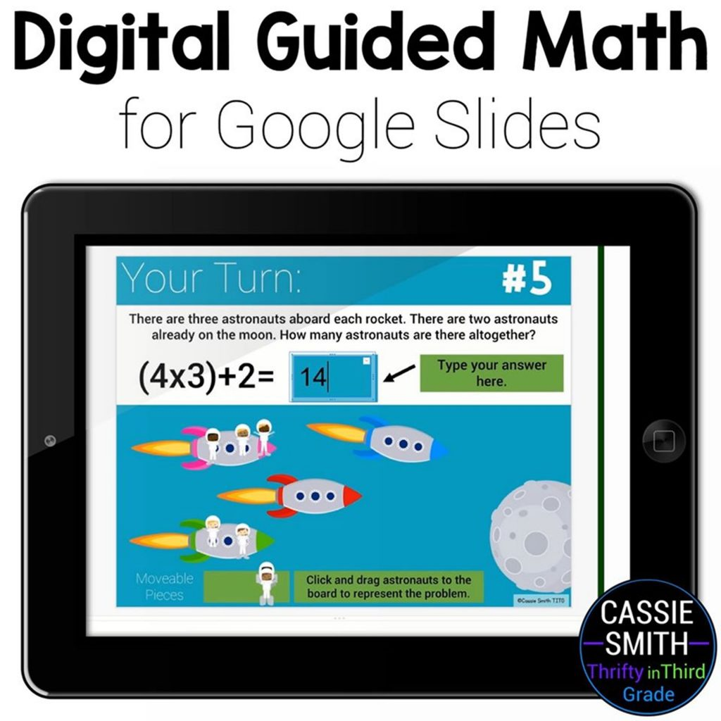 Digital Guided Math Practice Using Google Slides