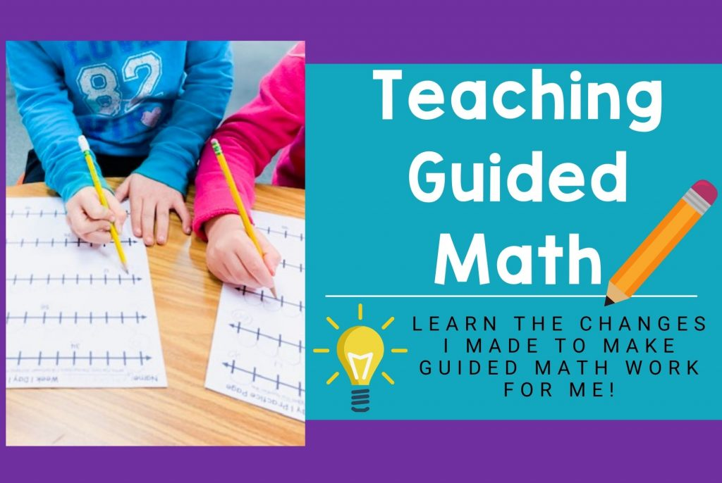 Learn the changes I made to how I teach Guided Math