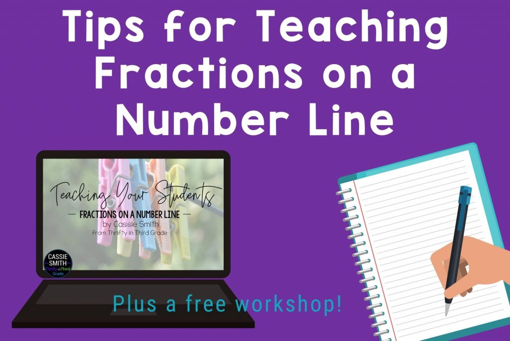 Get tips for teaching fractions on a number line.